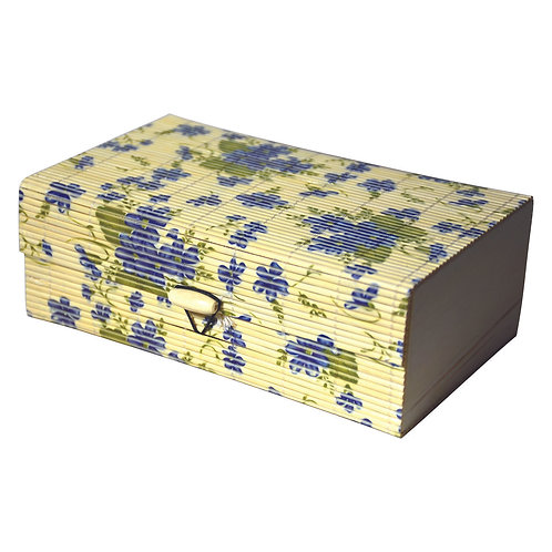 Haastika Handmade Wooden Jewellery Box/Jewellery Organizer Box - Multi Color/L