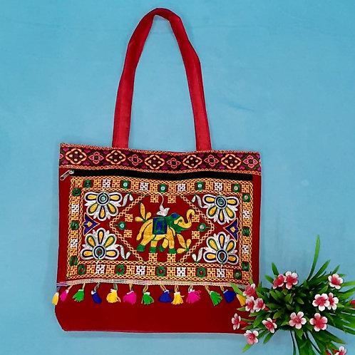 Haastika Tote Bag for Women (Multi-Color)