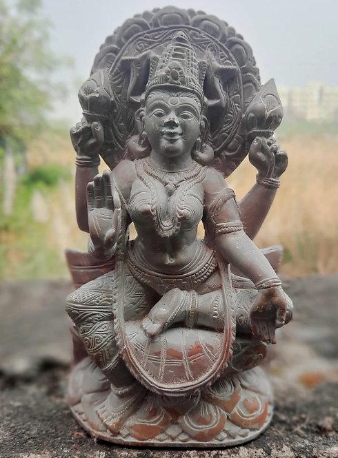 Haastika Stone Godess Laxmi Showpiece