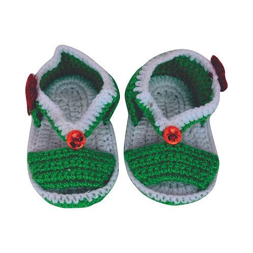 Haastika Woollen Baby Booties 0 to 3 Months