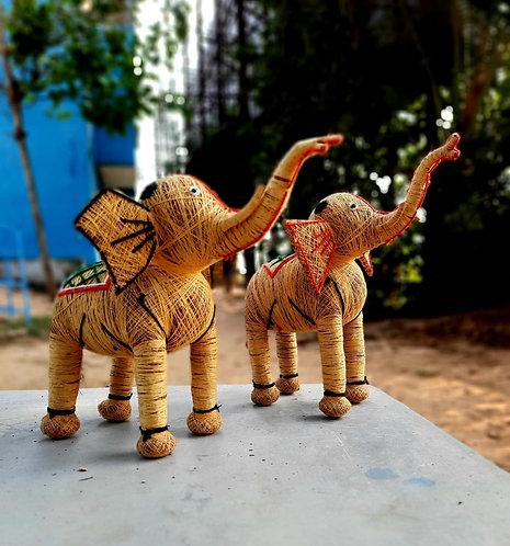 Haastika Home décor Elephant showpiece