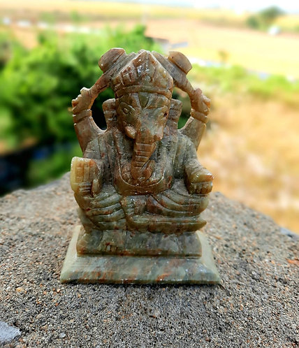 Haastika Stonecraft Lord Ganesh showpiece
