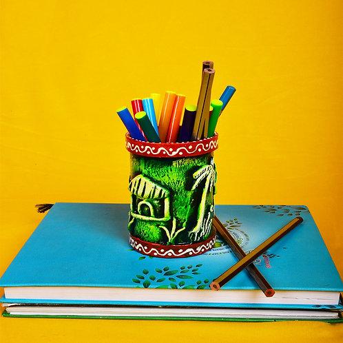 Haastika Handmade Paper Mache Pen/Pencil Holder