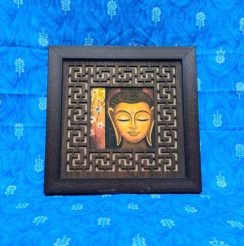 Haastika MDF Budha Paintings