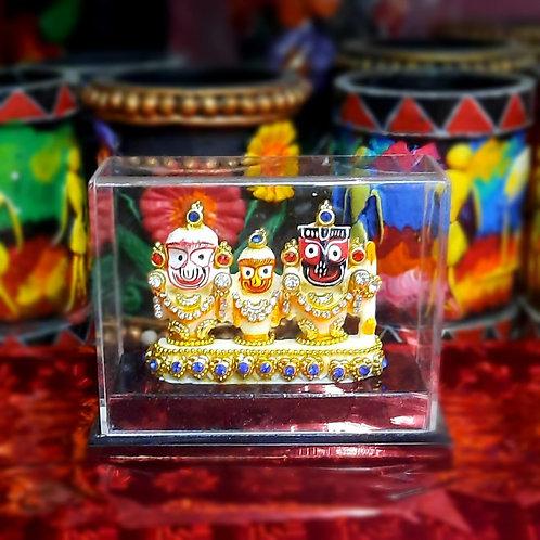 Haastika Idols and Figurines of Lord Jagannath balaram and subhadra | Idols