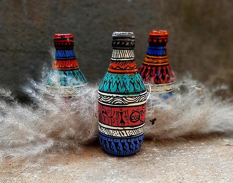 Haastika Tribal Bottle Art Paintings