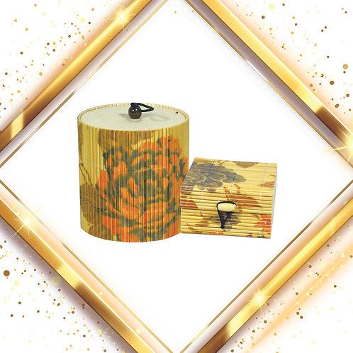 Haastika Handmade Wooden Round Jewelry Box with Square Jewelry Box (Combo Pack)