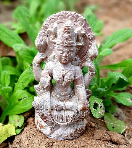 Haastika Stone Goddess Laxmi Showpiece