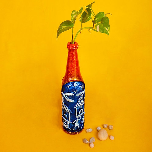 Haastika Decorative Bottle Art for Home Décor
