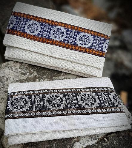Haastika Handmade Multicolour Jute Clutches