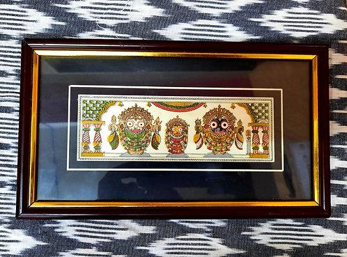 Haastika Jagannath Palm Leaf Paintings