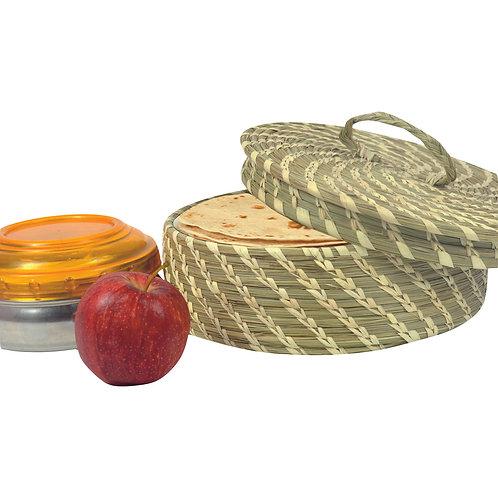 Haastika Sabai Round Basket/Organizer Box/Storage Box/Basket for Bread