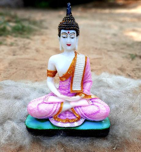 Haastika Marble Lord Buddha - Pink