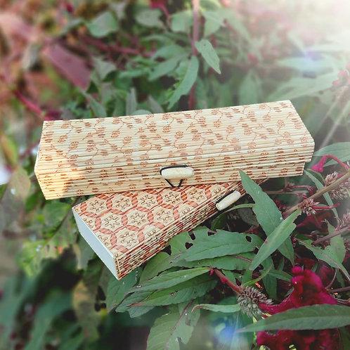 Haastika Handmade Wooden Jewellery Box/Jewellery Organizer Box - Multi Color