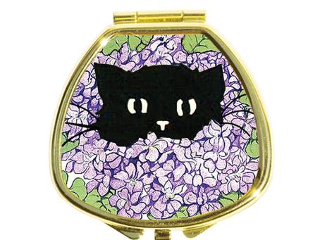 アジサイ柄 BLACK CAT IN HYDRANGEA 今年も発売