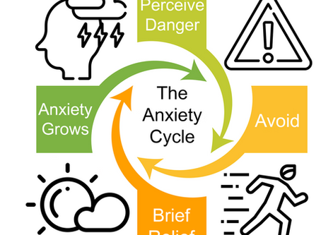 Rewire the Anxious Brain- The Anxiety Cycle