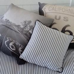 Instagram - Black and white cushion love