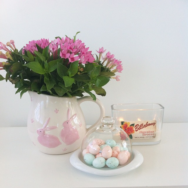 Instagram - Easter you do bring out the pink in me #Easter