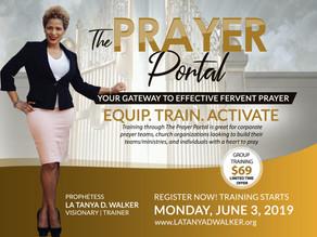 Meet Me in The Prayer Portal!