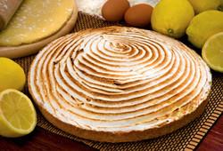 Torta Limone Flambè