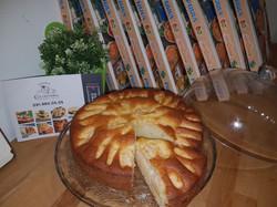Trancio di torta di mele