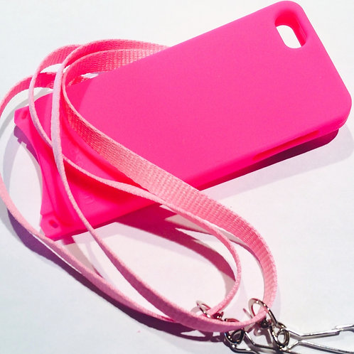 iPhone 5/5s Gel Case Pink