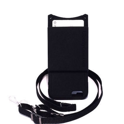 iPhone 6/6S Black Case with Credit Card Holder