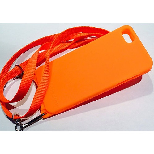 iPhone SE Gel Case Tangerine