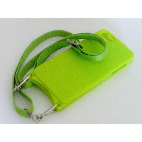 iPhone SE Gel Case Neon Green