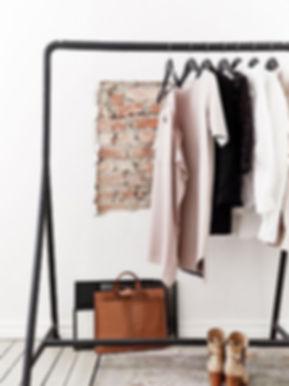 riorganizzazione del guardaroba