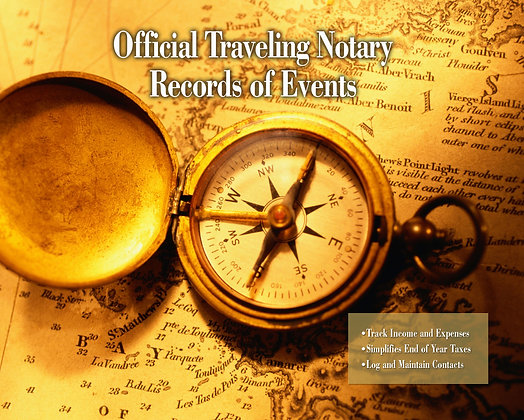 Traveling Tax Log