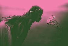 Fille Fleurs Sentir