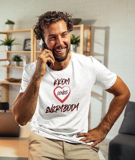 KKOM Love Everybody White T-Shirt