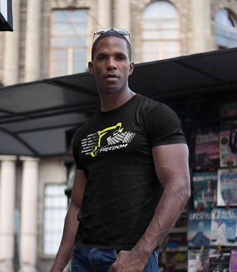 Men's Black Freedom T-Shirt