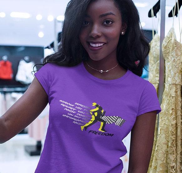 Women's Purple Freedom T-Shirt