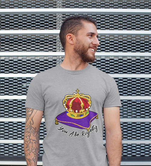 You Are Royalty (Crown of Life) Graphite Heather Gray T-Shirt