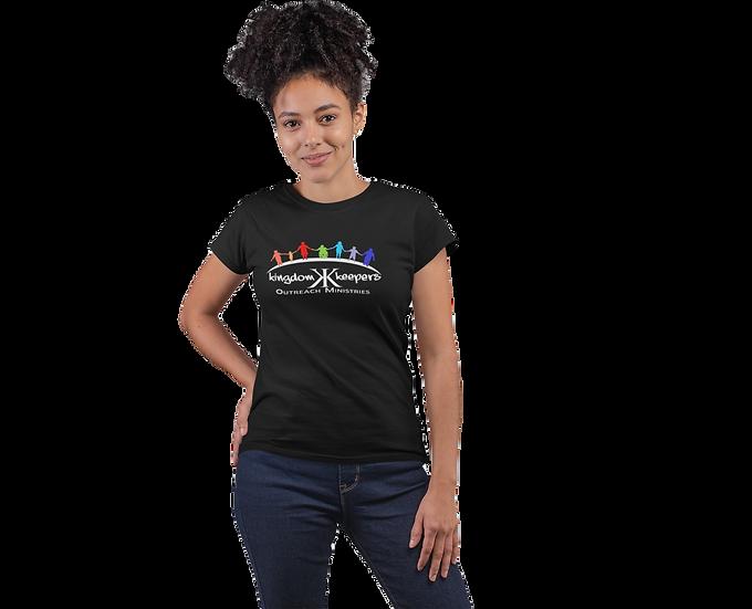 Black Tee Shirt with KKOM Logo