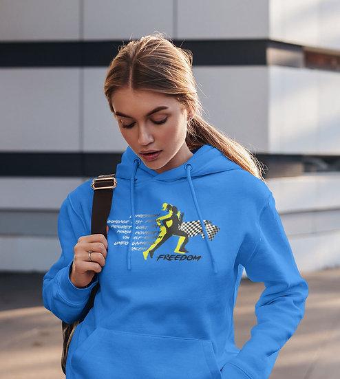 Women's Royal Blue Freedom Hoodie