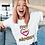 Thumbnail: KKOM Love Everybody White T-Shirt