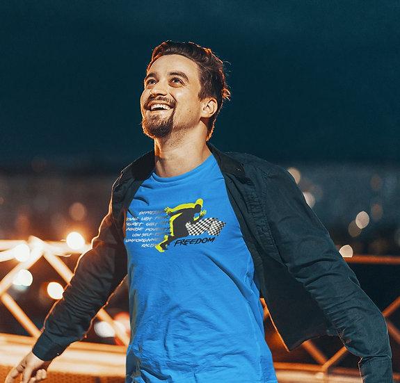 Men's Royal Blue Freedom T-Shirt