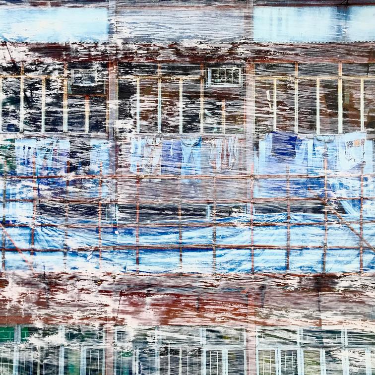 Hongkong  Fassade