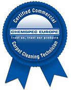 Certified Commercial Carpet Maintenance Technician Logo.
