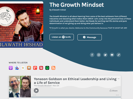 Growth Mindset Podcast interview
