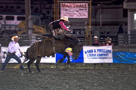 """Viking Stampede Rodeo"" Mike Harlow"