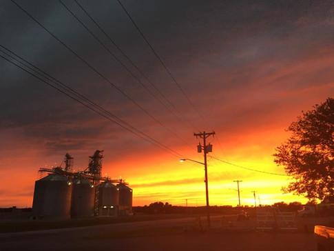 Harvest Sunset - Christy Butner