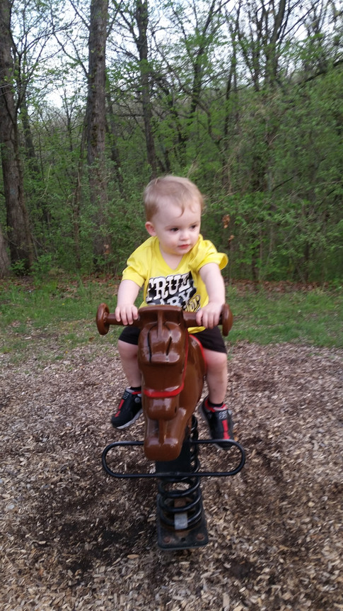 """A Boy and his Horse"" Bethany Erickson"