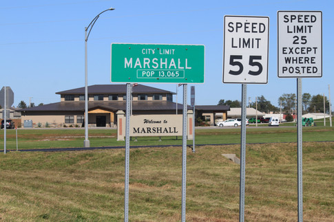 """""""Welcome to Marshall"""" Jessica Mallette"""