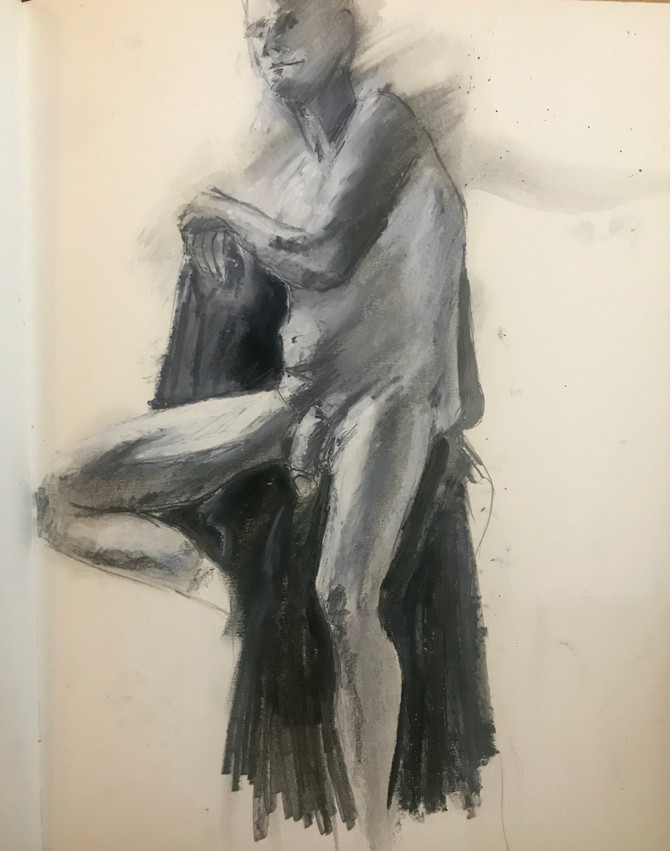 First night back life drawing this year.