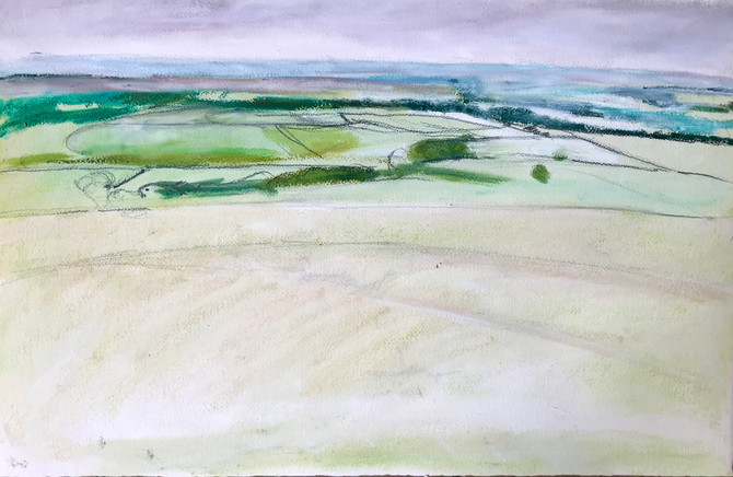 Spring on the moor. A work in progress 🤔.