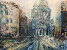 St Pauls reflections by Jane Vaux - by commission